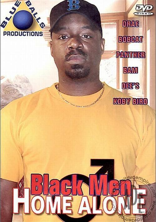 Black Men Home Alone Boxcover