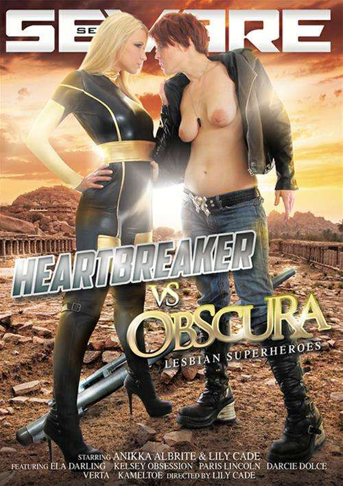 Heartbreaker VS Obscura: Lesbian Superheros Boxcover