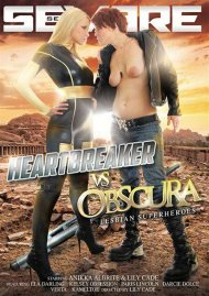 Heartbreaker VS Obscura: Lesbian Superheros Porn Video