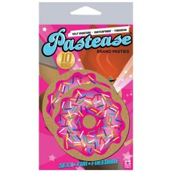 Pastease Pink Donut with Sprinkles Sex Toy