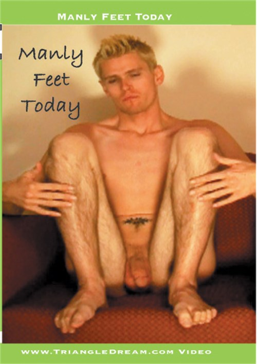 Manly Feet Today Boxcover