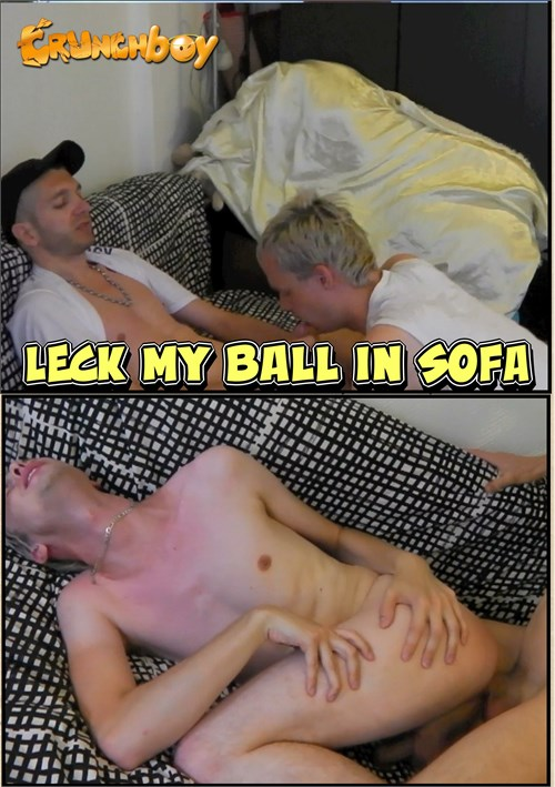 Leck My Ball in Sofa Boxcover