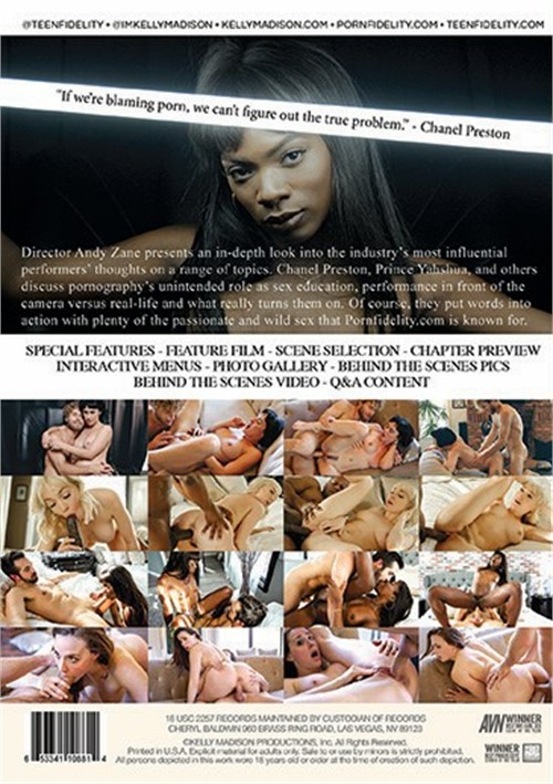Back cover of A XXX Documentary