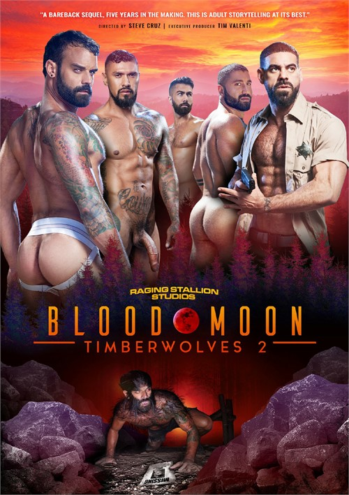 Timberwolves 2 Blood Moon Front Cover