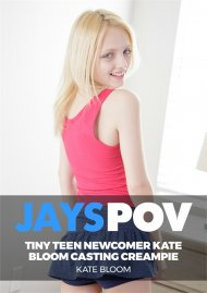 Tiny Teen Newcomer Kate Bloom Casting Creampie image