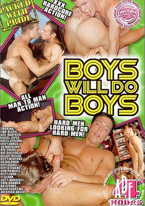 Boys will do Boys Boxcover