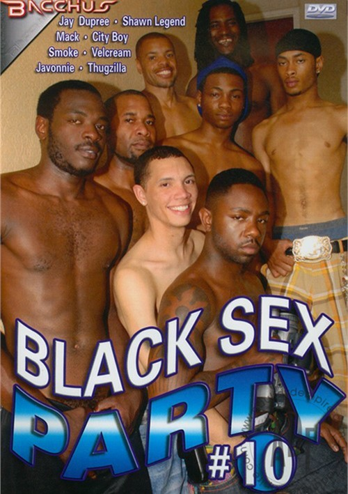 Black Sex Party #10 Boxcover