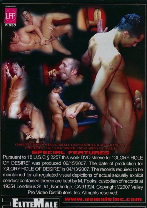 Glory Hole of Desire Back Cover