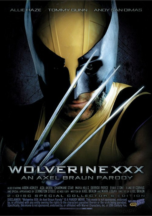 Wolverine XXX: An Axel Braun Parody