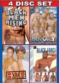 Deep In A Black Mans Ass 4-Pack Gay Porn Movie