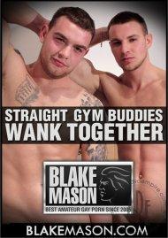 Straight Gym Buddies Wank Together