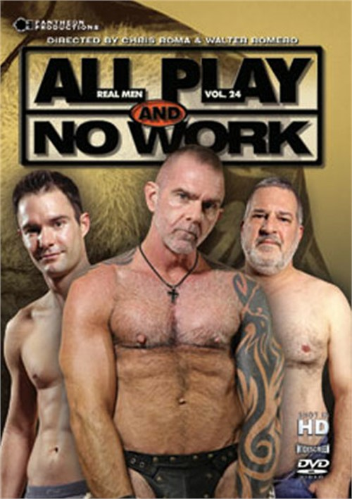 All Play and No Work: Real Men Volume 24 Boxcover