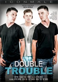 Double Trouble gay porn DVD from Icon Male