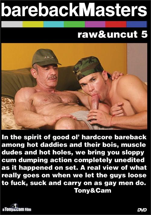 Bareback Masters: Raw & Uncut 5 Boxcover