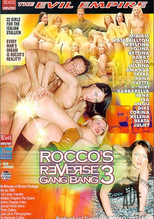 Reverse gang bang video rocco