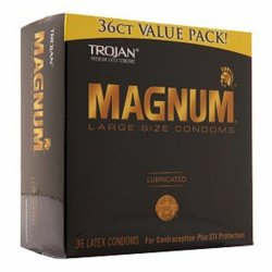 Trojan Magnum 36 Pack Sex Toy