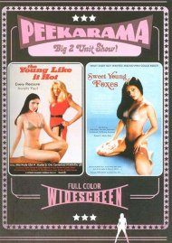 Peekarama: The Young Like it Hot / Sweet Young Foxes porn DVD from Vinegar Syndrome.