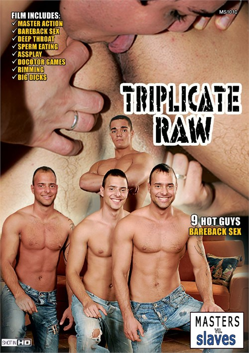 Triplicate Raw Boxcover