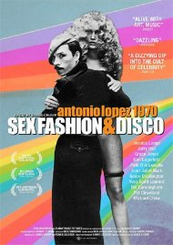 Antonio Lopez 1970: Sex, Fashion & Disco gay cinema DVD from Film Movement
