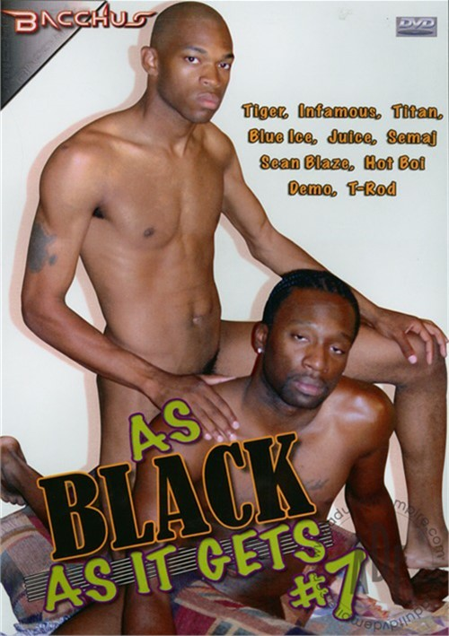 As Black As It Gets #7 Boxcover