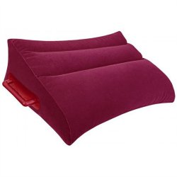 Adam & Eve Inflatable Position Pillow - Red