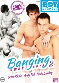 Banging Sweet Boys 2 gay porn DVD from Bareback Boy Bangers
