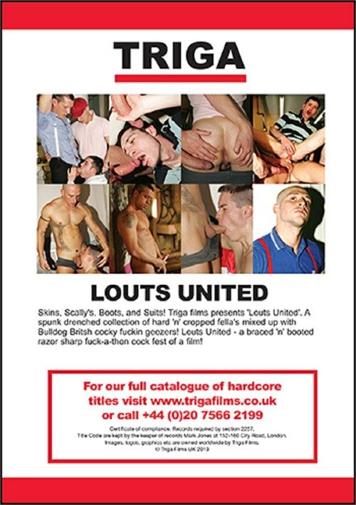 Louts United Cover Back