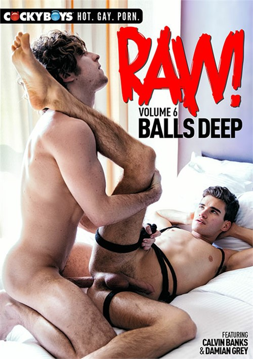 Raw! Vol. 6: Balls Deep Boxcover