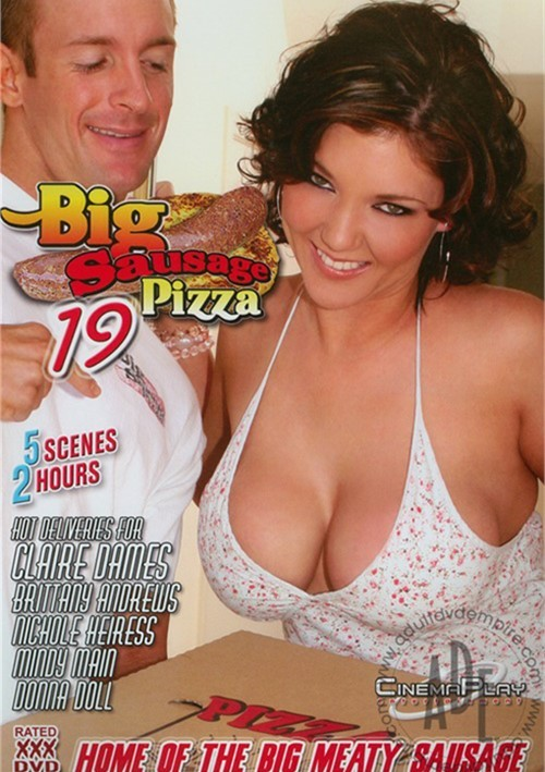 Hot big busty pizza sausage young nude