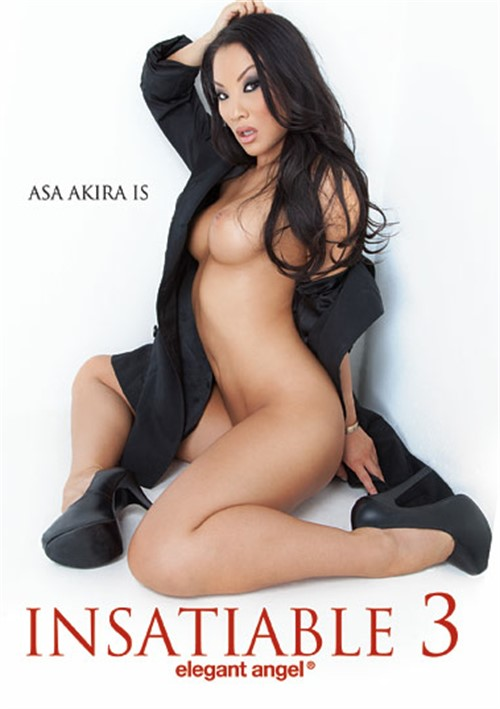 Asa Akira Is Insatiable Vol. 3 Boxcover