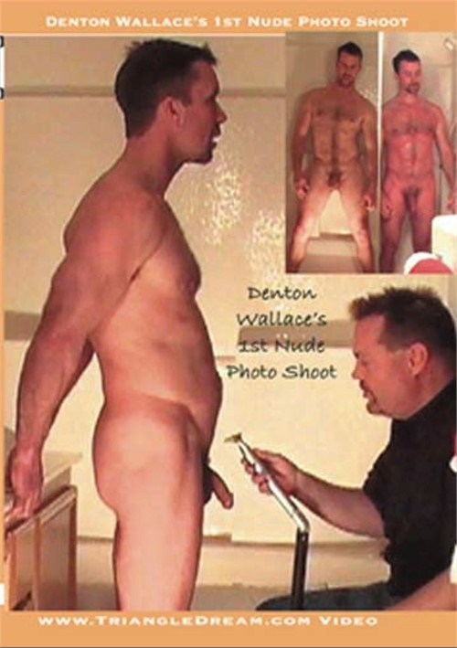 Denton Wallace's 1st Nude Photo Shoot Boxcover