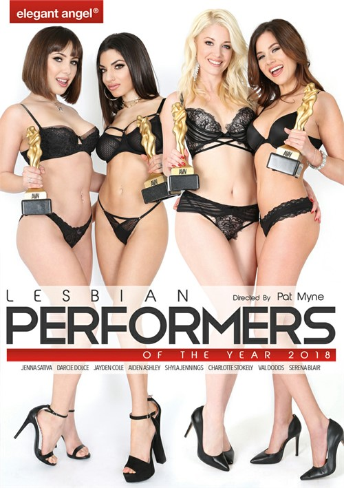 Lesbian Performers of the Year 2018 porn video