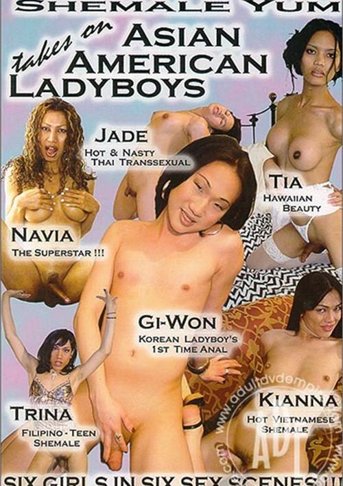 Asian american ladyboys
