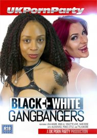 Black+White Gangbangers Porn Video
