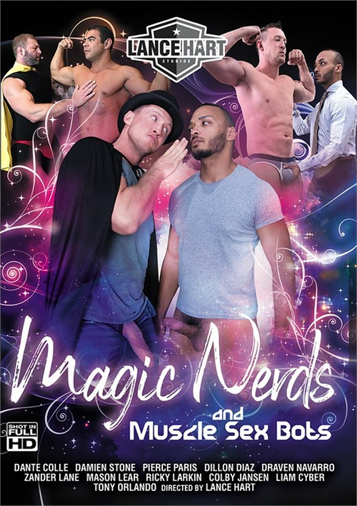 Magic Nerds and Muscle Sex Bots Cover Front