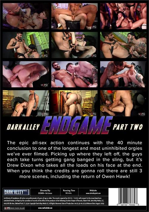 Endgame 2 Back Cover