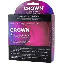 Crown Super Thin and Sensitive Condoms - 36 Pack Sex Toy