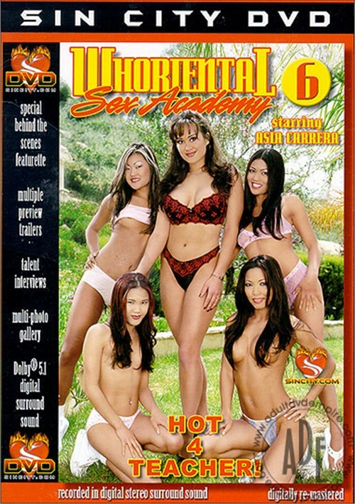 Whoriental sex academy adult dvd