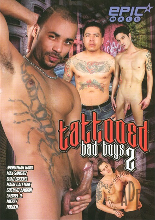 Tattooed Bad Boys 2 Boxcover