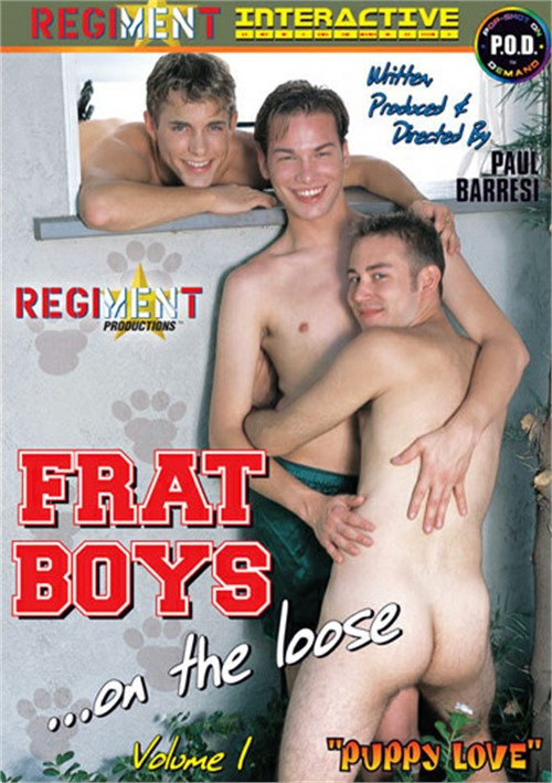 Frat Boys on the Loose Vol. 1 Boxcover
