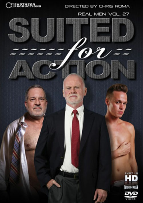 Suited For Action: Real Men Volume 27 Boxcover