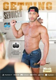 Getting Serviced gay porn VOD from VRBangers Gay