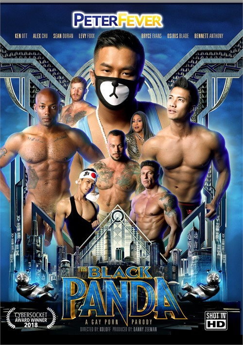 Black Panda: A Gay Porn Parody, The image