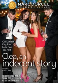 Clea, An Indecent Story porn DVD from Marc Dorcel.