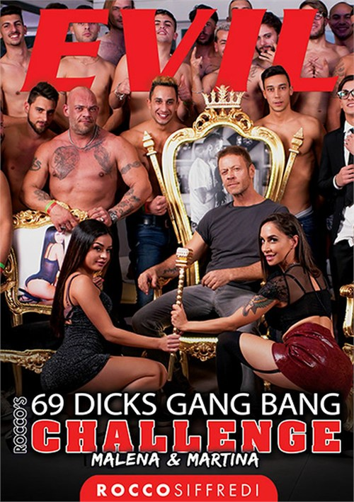 Rocco's 69 Dicks Gang Bang Challenge: Malena & Martina