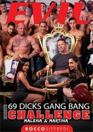 Rocco's 69 Dicks Gang Bang Challenge: Malena & Martina image