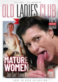 Mature Women Just Can't Leave It image