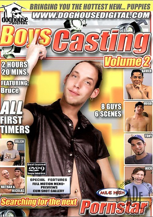 Boys Casting Vol. 2 Boxcover