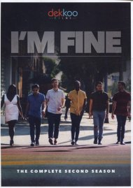 I'm Fine: The Complete Second Season gay cinema DVD from Dekkoo Films.