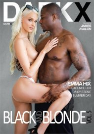 Black And Blonde Vol. 5 porn DVD from DarkX.